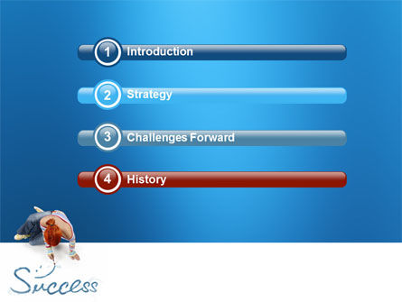 Women's Success PowerPoint Template Slide 3