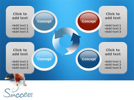 Women's Success PowerPoint Template Slide 9
