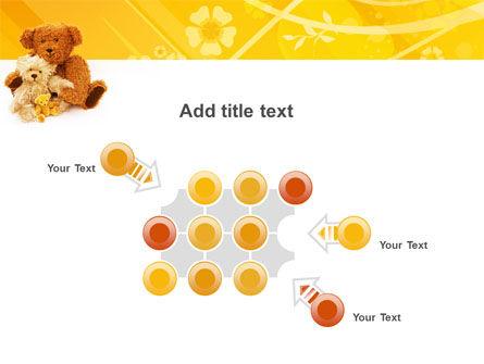Teddy Bear PowerPoint Template Slide 10
