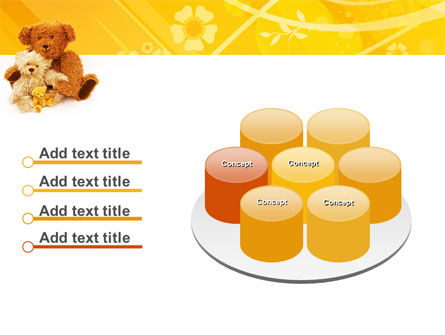 Teddy Bear PowerPoint Template Slide 12