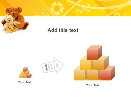 Teddy Bear PowerPoint Template Slide 13