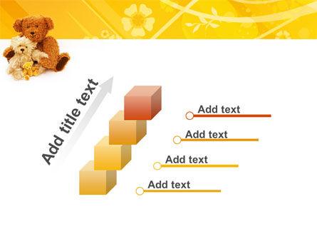 Teddy Bear PowerPoint Template Slide 14