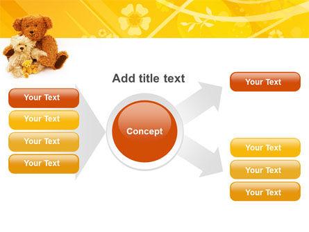 Teddy Bear PowerPoint Template Slide 15