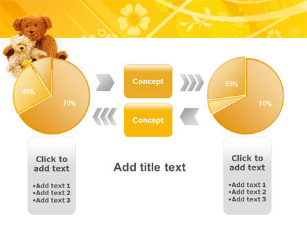 Teddy Bear PowerPoint Template Slide 16