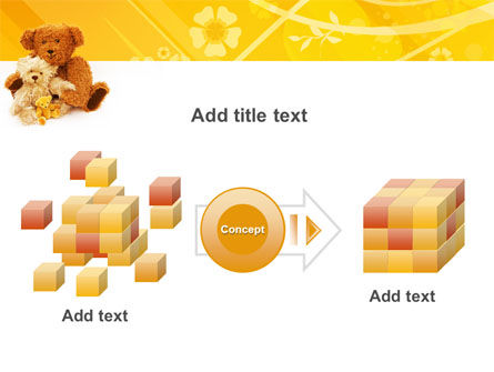 Teddy Bear PowerPoint Template Slide 17