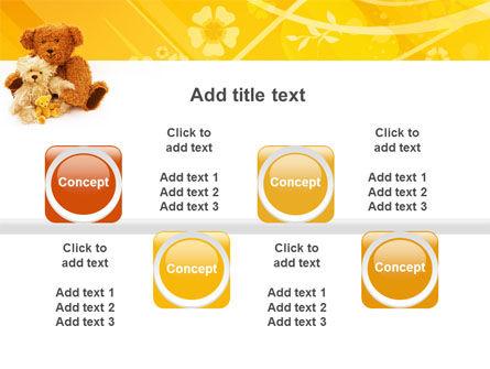 Teddy Bear PowerPoint Template Slide 18