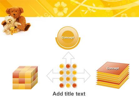 Teddy Bear PowerPoint Template Slide 19