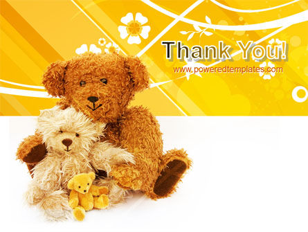 Teddy Bear PowerPoint Template Slide 20
