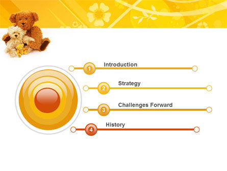 Teddy Bear PowerPoint Template, Slide 3, 02901, Holiday/Special Occasion — PoweredTemplate.com
