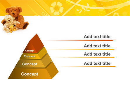 Teddy Bear PowerPoint Template, Slide 4, 02901, Holiday/Special Occasion — PoweredTemplate.com