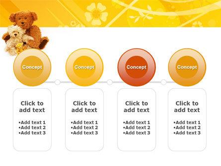 Teddy Bear PowerPoint Template Slide 5