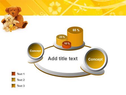 Teddy Bear PowerPoint Template Slide 6