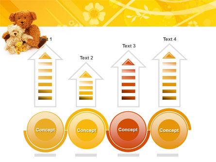 Teddy Bear PowerPoint Template Slide 7