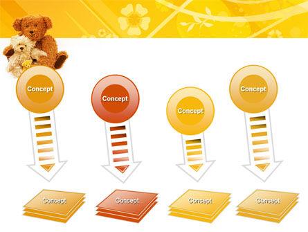 Teddy Bear PowerPoint Template Slide 8