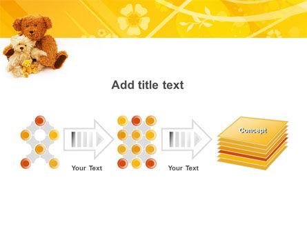 Teddy Bear PowerPoint Template Slide 9