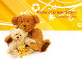 Holiday/Special Occasion: Teddy Bear PowerPoint Template #02901