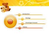 Teddy Bear PowerPoint Template#3