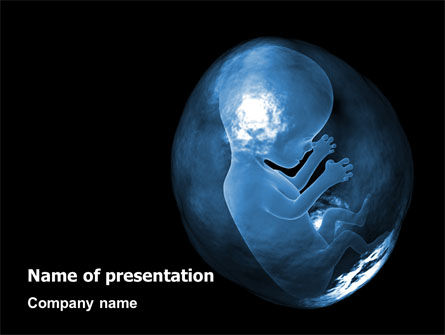 Medical: Embryo PowerPoint Template #02903