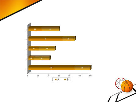 Basketball PowerPoint Template Slide 11
