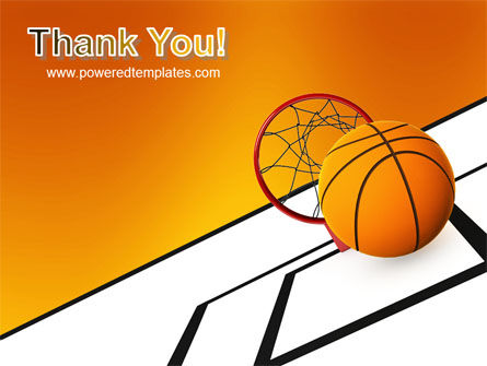 Basketball PowerPoint Template Slide 20