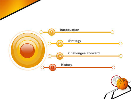 Basketball PowerPoint Template Slide 3