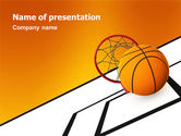 Sports: Basketball PowerPoint Template #02904