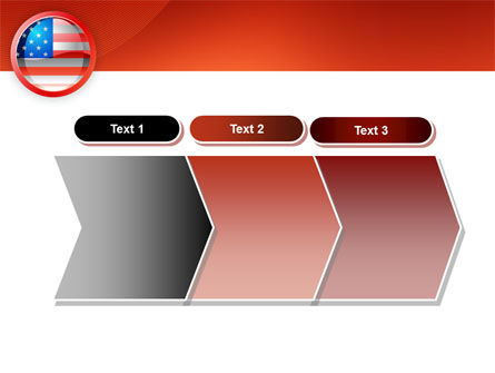 US Flag PowerPoint Template Slide 16