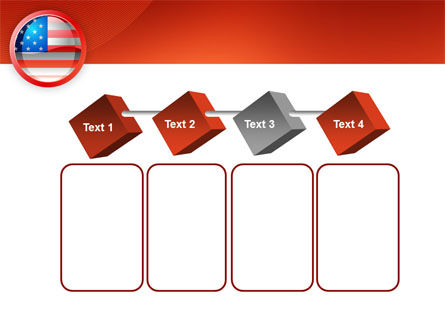 US Flag PowerPoint Template Slide 18