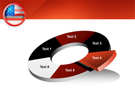 US Flag PowerPoint Template Slide 19