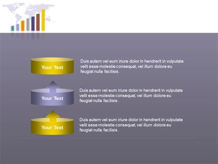 Dark Blue Diagram PowerPoint Template Slide 10