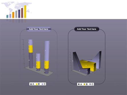 Dark Blue Diagram PowerPoint Template Slide 13