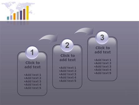 Dark Blue Diagram PowerPoint Template Slide 14