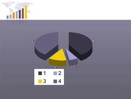 Dark Blue Diagram PowerPoint Template Slide 17