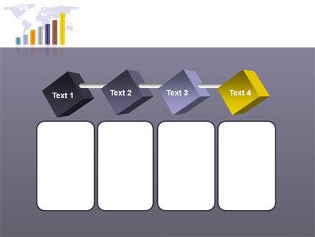 Dark Blue Diagram PowerPoint Template Slide 18