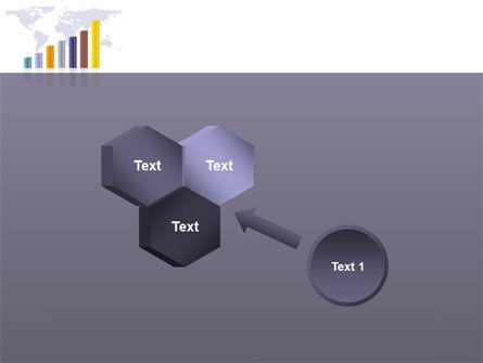 Dark Blue Diagram PowerPoint Template Slide 19