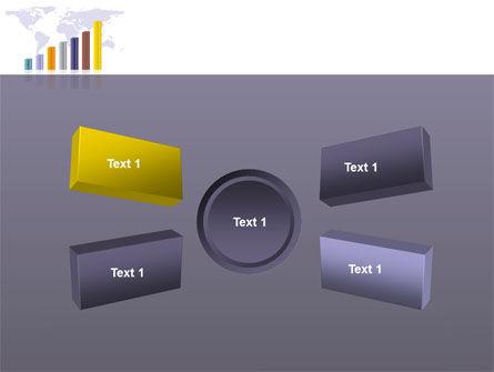 Dark Blue Diagram PowerPoint Template Slide 6
