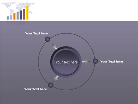 Dark Blue Diagram PowerPoint Template Slide 7