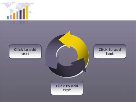 Dark Blue Diagram PowerPoint Template Slide 9