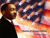 Holiday/Special Occasion: Martin Luther King PowerPoint Template #02907