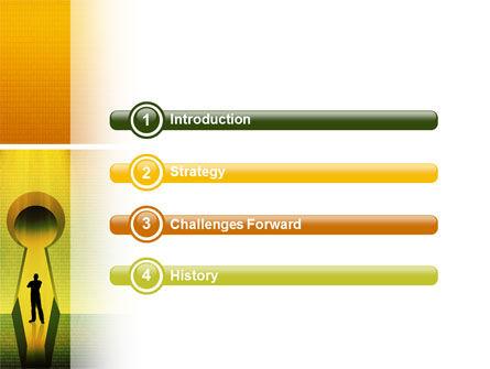 Digital Fortress PowerPoint Template Slide 3