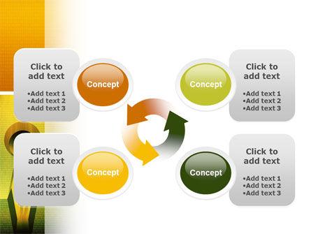 Digital Fortress PowerPoint Template Slide 9