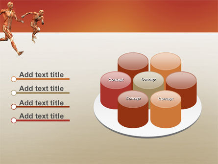 Muscular System PowerPoint Template Slide 12