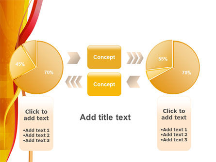 Yellow Waves PowerPoint Template Slide 16
