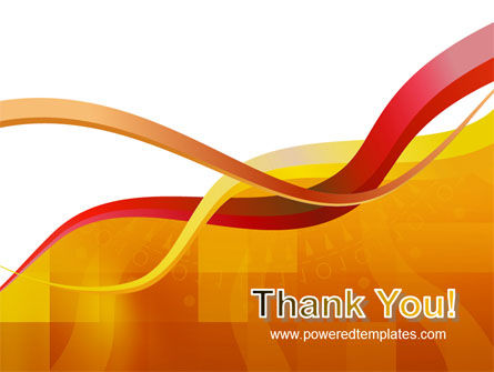 Yellow Waves PowerPoint Template Slide 20