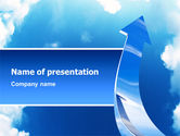 Business Concepts: Going Up PowerPoint Template #02916