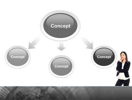 Independent Thinking PowerPoint Template, Slide 4, 02918, People — PoweredTemplate.com