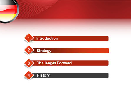 Germany Sign PowerPoint Template Slide 3