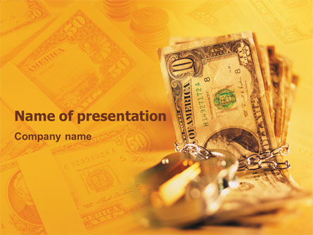 Financial/Accounting: Safe Property PowerPoint Template #02924
