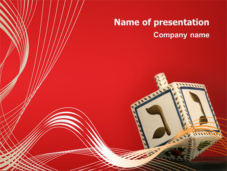 Hanukkah Powerpoint Template Backgrounds 02925 Poweredtemplate