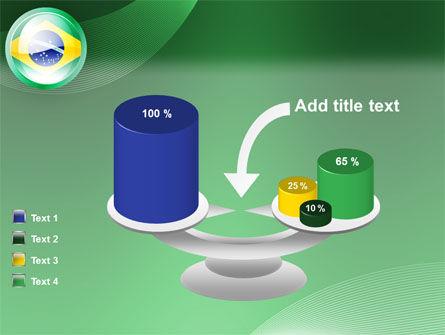 Brazil Sign PowerPoint Template Slide 10